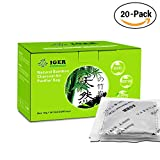Image of Diaper Pail Deodorizers 100% Natural Air Purifier Carbon Filters Odor Eliminator for Shoes Closets Deodorizer Bathroom,Pets ( 20 Pack )
