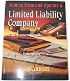 How to Form and Operate a Limited Liability Company, Gregory C. Damman, 1551800349