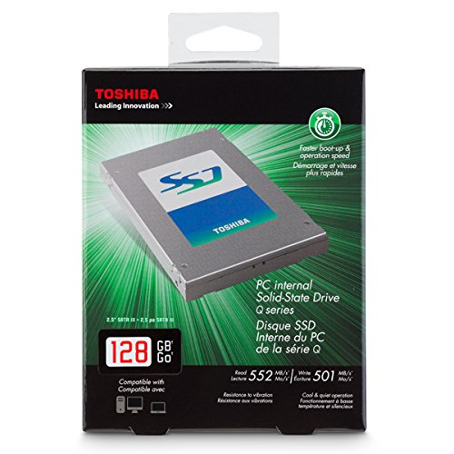 Toshiba HDTS212XZSTA Q-Series 128GB Internal Serial ATA III Solid State Drive for Laptops by Toshiba (Image #2)