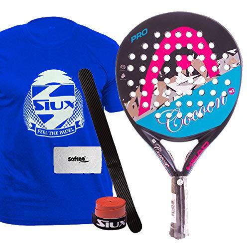 Head Cocoon N2 - Pala de pádel , color negro / rosa / blanco / azul, 11CN: Amazon.es: Deportes y aire libre