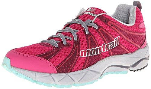 Montrail Damesfluffeel Ii All-terrain Sportschoen Glamour / Grijs Ijs