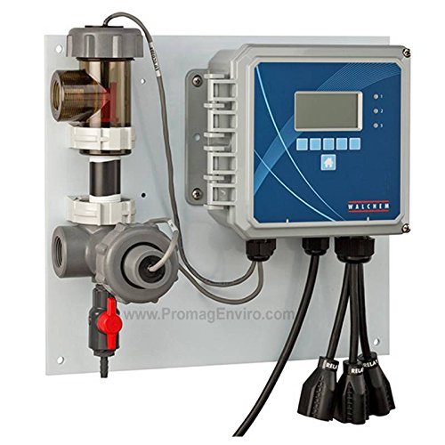 Walchem Conductivity Controller for Cooling Towers with Probe/Flow Sensor/Manifold 120 VAC