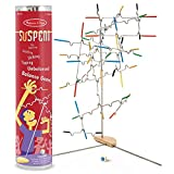 Melissa & Doug Suspend Family Game, Classic Games, Exciting Balancing Game, Develops Hand-Eye Coordination, 12.5″ H x 2.8″ W x 2.8″ L