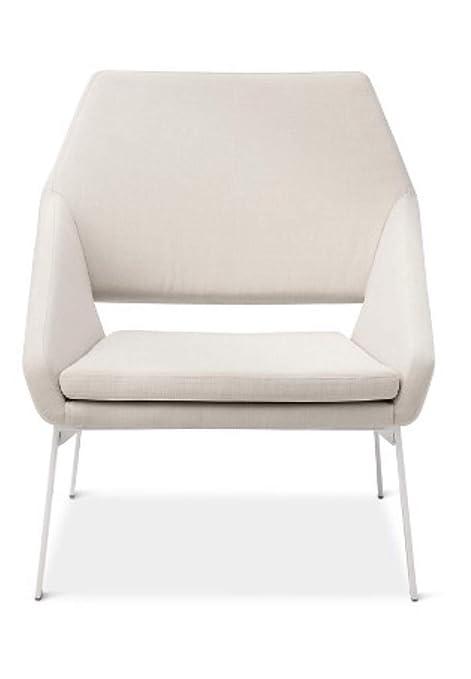 Pleasant Amazon Com Modern Lounge Chair White Natural Modern By Inzonedesignstudio Interior Chair Design Inzonedesignstudiocom