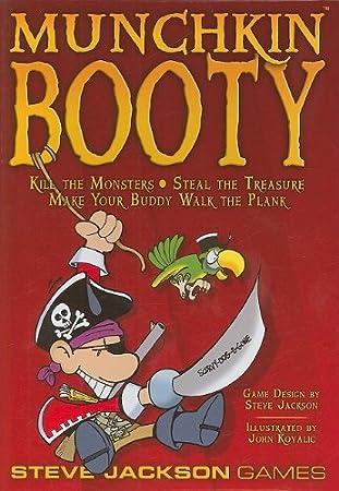 Steve Jackson Games Munchkin Booty - Juego de mesa (contenido en ...