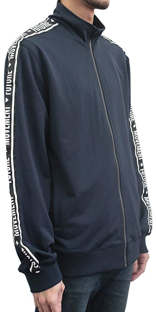 Hollywood The Jean People Full Zip Track Jacket with Printed Tape Sleeve