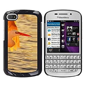 Paccase / SLIM PC / Aliminium Casa Carcasa Funda Case Cover - Stork Ocean Sun Sunset Summer - BlackBerry Q10