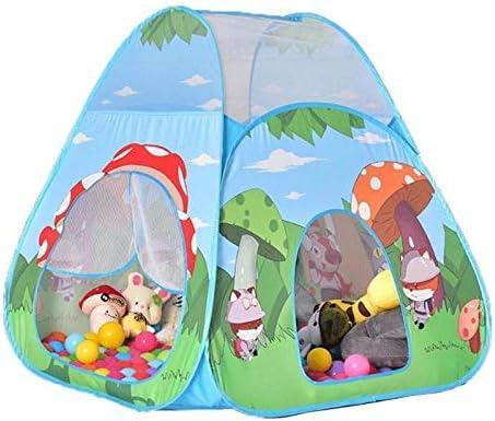 Haozhuokun La Tienda del Juego de los niños Kid Carpa de Hongos Tienda Canadiense de Dibujos Animados Toy Bosque Cubierta al Aire Libre Juego de los niños Tienda de la Tienda del