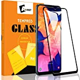 AVIDET for Samsung Galaxy A10e Screen Protector, Samsung Galaxy A10e Tempered Glass [Anti-Scratch][Case Friendly] 9H Hardness 3D Full Coverage Compatible for Samsung Galaxy A10e (Black)