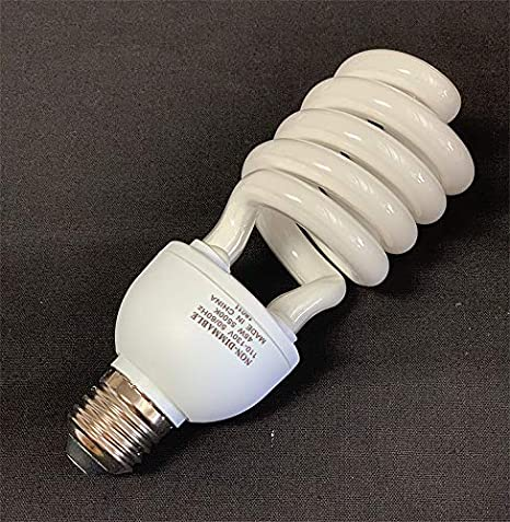 Fancierstudio 45 Watt Cfl Light Bulb Daylight Light Bulbs 5500k