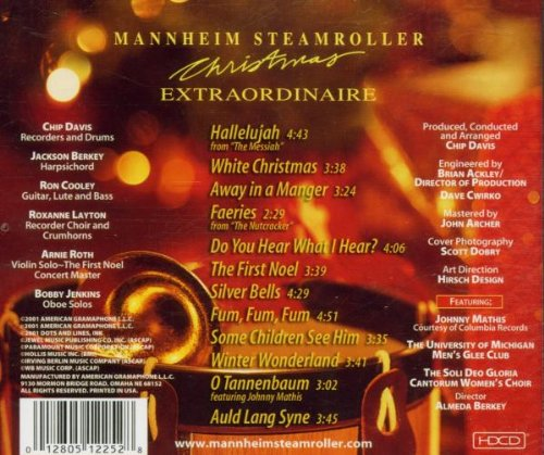 Mannheim Steamroller - Christmas Extraordinaire - Amazon.com Music