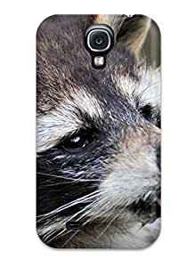Protective Tpu Case With Fashion Design For Galaxy S4 (raccoon)