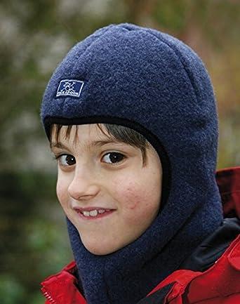 068be6b7df1 Pickapooh Hat 100% Merino Wool Balaclava Baby Boy Girl Children Fleece  Winter Sturmhaube  Amazon.ca  Clothing   Accessories