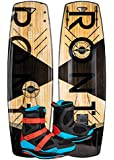 Ronix Darkside Wakeboard Package Package w/Supreme Boots (2019)