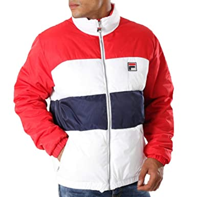 Fila Blocked Puffa Jacket, Chaqueta: Amazon.es: Ropa y ...