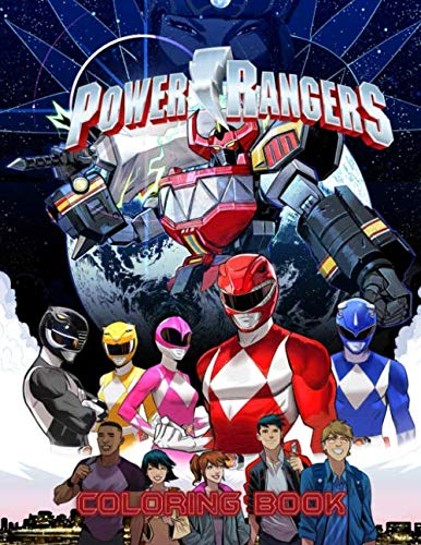 (Power Rangers Coloring Book: 30 Illustrations | Ages 3-7 | Exclusive Book For Kids | Great Coloring)