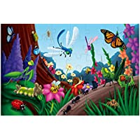 Floor Puzzles for Kids - 48-Piece Giant Floor Puzzle, Jumbo Jigsaw Puzzles for Toddlers Preschool, Toy Puzzles for Kids Ages 3-5, 2 x 3 Feet