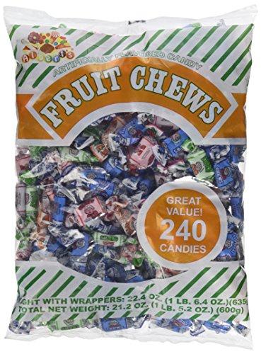 Albert's Fruit Chews - Assorted Flavors (240 Candies)