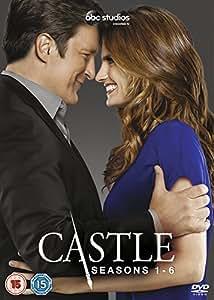Castle - Temporadas 1 - 6 [Reino Unido] [DVD]