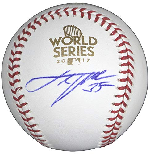 Justin Verlander Houston Astros Signed Autographed Rawlings 2017 World Series Official Baseball COA