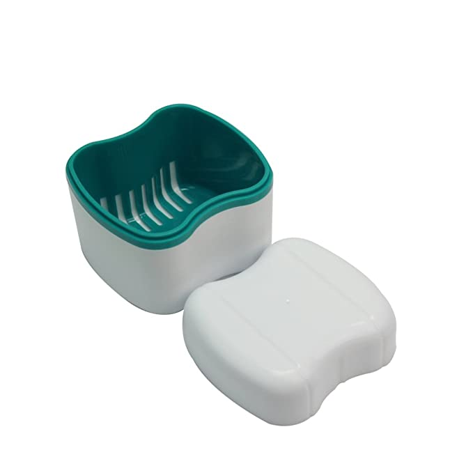 Caja Estuche Para Ortodoncia Dental Dentadura Postiza ...