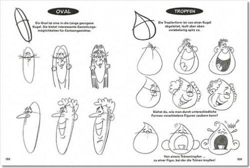 Cartoon Gesichter Figuren Zeichnen Amazon De Bruce Blitz