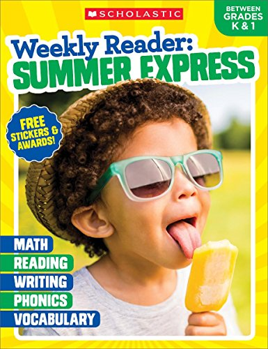 Weekly Reader: Summer Express (Between Grades K & 1) Workbook cover