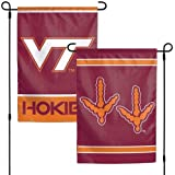 WinCraft NCAA Virginia Tech University 12x18 Inch 2-Sided Outdoor Garden Flag Banner