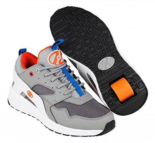 Heelys Force Schuhe–Grau/Weiß/Orange UK 2/EU 34