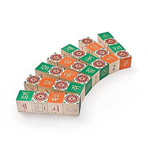 Uncle Goose Korean Blocks - Made in USA