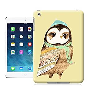 Unique Phone Case Snuggly Owl Hard Cover for ipad mini cases-buythecase