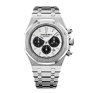Best Epic Trends 51C9NJ61WXL._SS300_ Audemars Piguet AP Royal Oak Chronograph White and Black Dial 41mm 26331ST.OO.1220ST.03