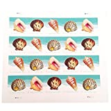 Toys : Seashells Postcard Stamp USPS Forever Stamps, Sheet of 20 - US Postage Card Stamps (Sheet of 20 Stamps)