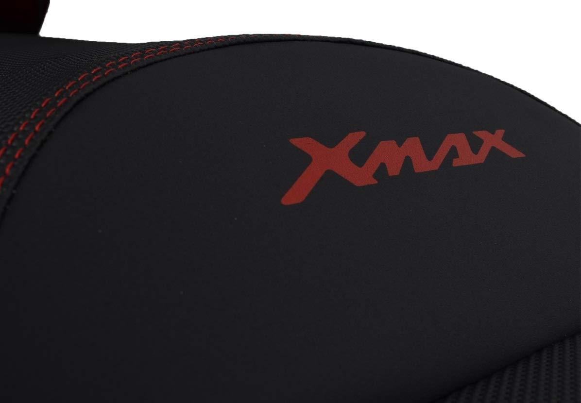 Funda de Asiento para Yamaha X-MAX 125//250 10-14 Negro-Rojo