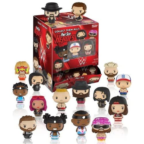 FunKo Pint Size Heroes: WWE - Superstars (One Figure per Purchase)