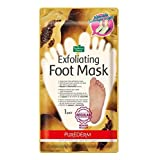 Purederm Exfoliating Foot Mask - Peels Away Calluses and Dead Skin in 2 Weeks! (2 Pack (2 Treatments))