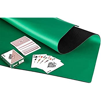Anti Slip And Noise Reduction Rubber Foam Mahjong Mat Card Game Table Cover Poker  Mat Board