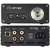 Matrix M-stage HPA-2 (USB)24bit/192kHz USB Headphone Amplifier AMP black