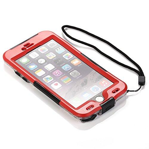 huge discount d45b0 8d1ef iPhone 6 Plus Waterproof Case, Bessmate (TM) 6.6 ft Underwater ...