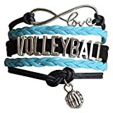 Infinity Collection Volleyball Bracelet- Volleyball Jewelry - Perfect...