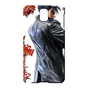 samsung note 3 Appearance High Quality For phone Protector Cases mobile phone carrying skins tekken jin