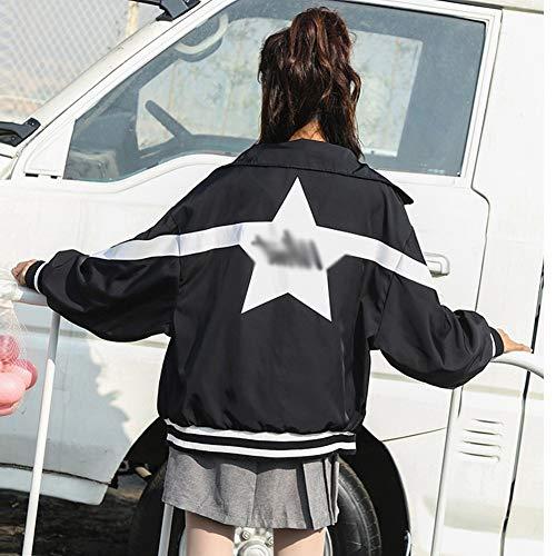 Baseball Mode CWJ Veste Porter Veste Femmes Automne Lettre Printemps De et wPIrqpnzPx