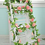 FYYDNZA-250Cm-False-Silk-Roses-Ivy-Artificial-Flowers-With-Green-Leaves-For-Home-Wedding-Decoration-Hanging-Garland