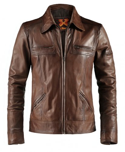 70s Brown Leather - 9