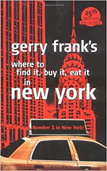 >ZIP> Gerry Frank's Where To Find It, Buy It, Eat It In New York (Gerry Frank's Where To Find It, Buy It, Eat It In New York (Regular Edition)). enjoy aspectos melding written exhibits There Lilith