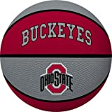 NCAA Ohio State Buckeyes Crossover Full Size Basketball by Rawlings