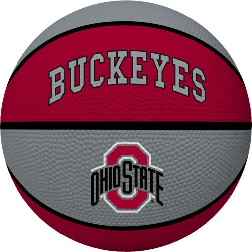 NCAA Ohio State Buckeyes Crossover Full Size Basketball by Rawlings (Ohio State Basketballs)