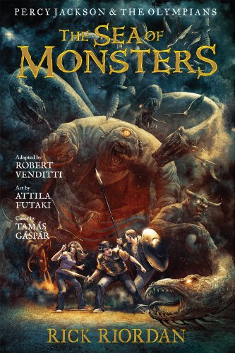 Percy Jackson and the Olympians:  The Sea of Monsters: The Graphic Novel (Percy Jackson and the Olympians: The Graphic Novel Book 2) - Sea Graphic