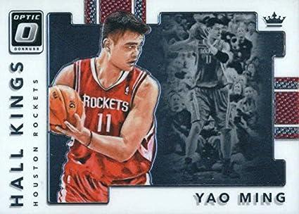 e9ad01bb3618a Amazon.com: 2017-18 Donruss Optic Hall Kings #20 Yao Ming Houston ...