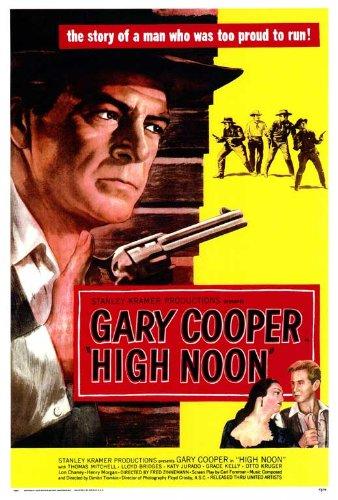 Gary Cooper Movie Poster - High Noon Poster Movie 11x17 Gary Cooper Grace Kelly Lloyd Bridges Lon Chaney Jr. MasterPoster Print, 11x17